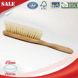 Escova de limpeza de pano com punho de madeira