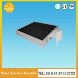 Solar integrado todo en un tipo cámara solar del sensor de movimiento de las luces de calle