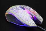Горячая продажа стороны ощущение светодиодный индикатор ноутбук портативный мышь Проводная мышь для игр