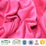 Tela micro del paño grueso y suave de la buena calidad de la materia textil de Hywell