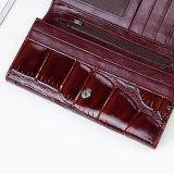 عمليّة بيع حارّة أصليّة بقرة جلد سيدة [بورس] [كروكديل] [سكين] [كلوتش] محفظة