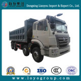 판매를 위한 Hight 질 Sinotruk Hohan 8X4 덤프 또는 팁 주는 사람 트럭