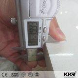 Pierre conçue blanche de quartz d'étincelle chaude de la vente 20mm