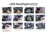 LED-Automobil beleuchtet 4 Grad H1 H3 H4 H7 H11 9005 der Seiten-360 9006 LED-Scheinwerfer-Birnen