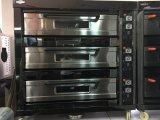 Der neue Art-Gas-Ofen mit schwarzer TitangoldEdelstahl-Serie 2017 für Geschäft (WFC-309QHT)