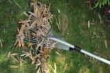 сгребалка листьев регулируемого пальто цинка 15-Teeth плоская стальная телескопичная