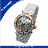 Ronde attrayant montre numérique charmant regarder avec des pierres