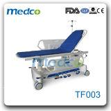 Carrello Emergency dell'ABS medico, carrello idraulico di trasporto di ospedale