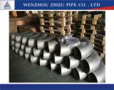 Manufatura direta de China do cotovelo inoxidável da tubulação de aço