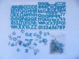 De Hobby van het Plakboek van het Karton DIY van de Brief van het alfabet