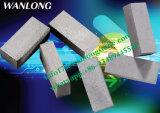 Segmento de hojas múltiples del diamante para el granito del corte, mármol, piedra arenisca, basalto, piedra de la andesita, larga vida, más sostenida, marca de fábrica de Wanlong