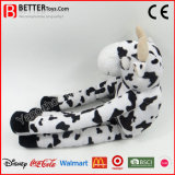 Poupée doux câlins jouet en peluche animal en peluche vache pour les enfants/enfants