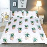Reeks van het Bed van het Ontwerp van het Beddegoed van de ananas de Vastgestelde Eenvoudige