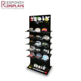 Modern Design Wooden Hat-Shaped POS Hat&Cap Display Stand