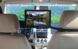 """Taxi del OS androide 10.1 """" que hace publicidad monitor del apoyo para la cabeza con el sensor infrarrojo de la pista del GPS"""