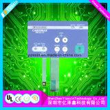 オーバーレイFPC LEDおよび金属のドームが付いているタクタイル膜スイッチ