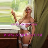 Tits ишака 171cm новая приезжанная кукла секса TPE больших больших реалистическая