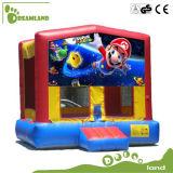 Preiswerte lustige Kind-aufblasbares Prahler-Schloss für Verkauf