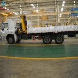 HOWO 6*4の貨物トラッククレーン、重いクレーントラック