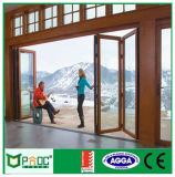 Puerta de plegamiento de aluminio de Pnoc080345ls con alto Quanlity
