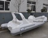 Liya 20ft Hypalonの肋骨の膨脹可能なボートのスポーツのボートの速いレジャー用ボート