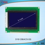 3.1 visualización del LCD de la MAZORCA de la pulgada 128X64c5V30