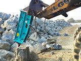Premier type rupteur de rupture hydraulique de roche de marteau pour la pièce d'assemblage d'excavatrice