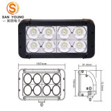 Trucks Double Row LED Bar Light를 위한 크리 말 10W LED Light Bar