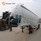 50m3 3Bulker polvo de cemento del puente de cemento a granel cisterna tráiler