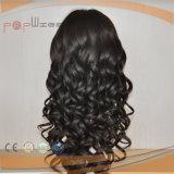 Peluca llena del pelo de la Virgen del cordón del estilo rizado (PPG-l-01398)