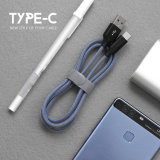 Зарядный кабель USB качества оптовой продажи 1m Braided быстрый для Типа-C