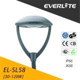 알루미늄 Everlite 고품질 정원 빛 LED 포스트 톱 라이트는 주물 30W 40W 50W를 정지한다