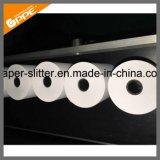 Rollo de papel automático de la rebobinadora cortadora longitudinal