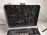 Innovation ABS Aluminiumlaufkatze-Hilfsmittel-Kasten/Hand (KeLi-ABS-1110)