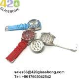 Zink-Legierungs-Schleifer-Silikon Watchfor 420 Rauch-Tabak-Kraut