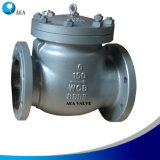 Cast Carbon Steel A216 Wcb Body & Bonnet Flanged Swing Check Valve