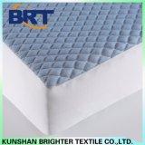 Protector impermeable /Cover del colchón del Rhombus del bombeo de la sensación de la capa fresca azul del aire