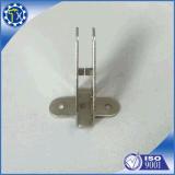 Le zinc de Balck de matériel de meubles a enduit la bride de coin de cornière de fer en métal de 90 degrés