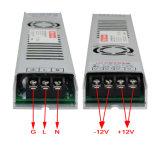 электропитание 12V 300W ультра тонкое СИД для светлой коробки