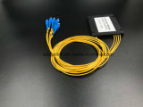 Divisore del PLC della scatola di plastica di telecomunicazione 1X4 di Gpon del cavo ottico della fibra