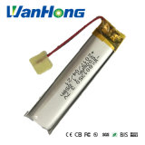 801350pl 500mAh Li-ion pour LED de batterie