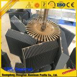 Profil en aluminium led dissipateur de chaleur du radiateur en aluminium