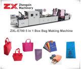 Zxl-E700 de niet-geweven Zak die van het Handvat van de Doos Machine maken (5-in-1)