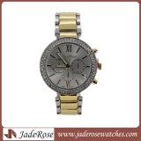 Form-Frauen-verursachende Armbanduhr-weibliche Kleid-Quarz-Taktgeber-Dame-Luxuxarmbanduhr