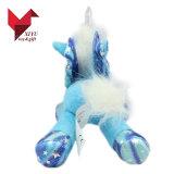 Het populairste Mooie Grote Stuk speelgoed van de Eenhoorn van de Pluche met Vleugels
