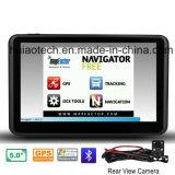 """Auto-LKW Soem-5.0 """" Marine-GPS-Navigation mit ISDB - Fernsehapparat; Bluetooth Freisprech für Telefon, FM Übermittler, hintere Kamera, Hand-GPS-Navigationsanlage, TMC-Verfolger"""
