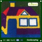 人工的な草の漫画のカーペットの学校の装飾のカーペット