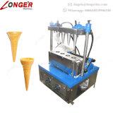 Cono semiautomatico della pizza del creatore del cono della cialda del gelato che fa macchina