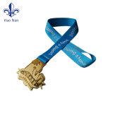 カスタム多彩な連続した記念品メダルリボン