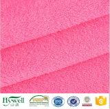 Hotsale Polyester-korallenrotes Vlies-Gewebe 2017